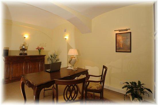 Hotel U krale: Reception