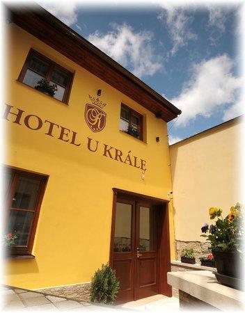 Hotel U krale: In front of hotel U krále