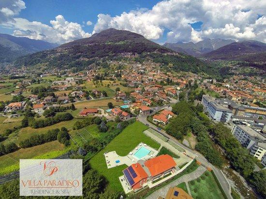 Residence & SPA Villa Paradiso : Panoramic view of sorroundings