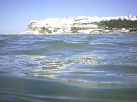 Village Ialillo : vista di Peschici dal mare