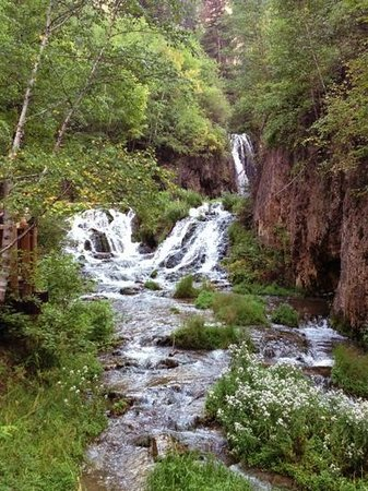 Spearfish Canyon Lodge : trail around lodge