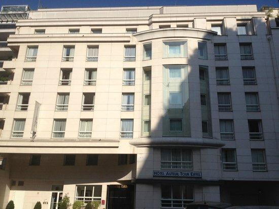 Hôtel Auteuil Tour Eiffel : The hotel