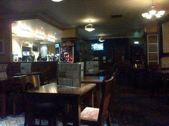 The Layton Rakes: Upstairs Bar Area