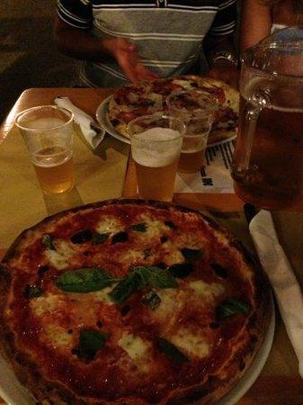 Tequila Pizzeria Pub: pizza boiano