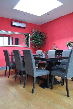 Maison l'epicurienne: salle de petit déjeuner