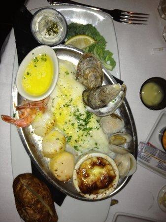 """Bill's Seafood Restaurant : """"kleine"""" Auswahl an Spezialitäten"""