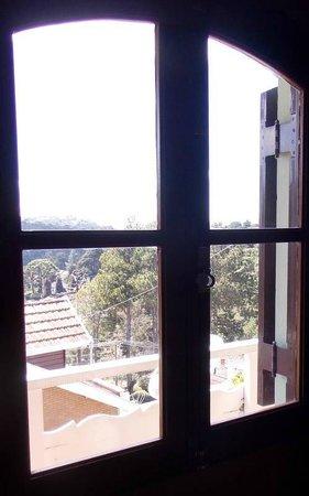 Hotel Recanto Dirros: Vista da janela