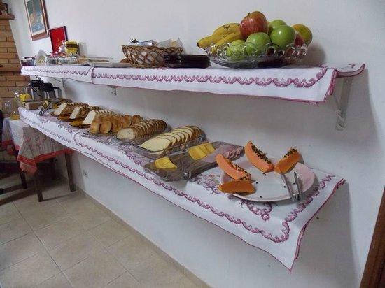 Hotel Recanto Dirros: Café da manhã