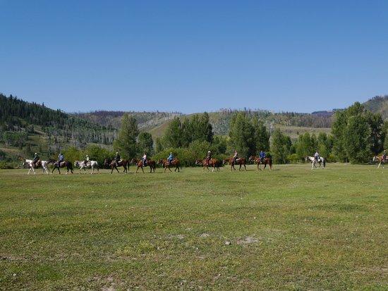 Goosewing Ranch: départ en ballade