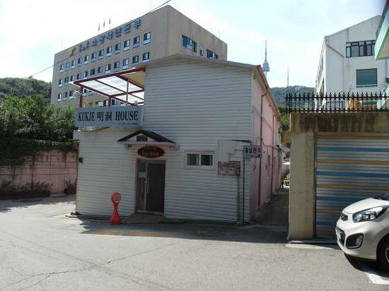 Kukje Myeongdong House : building look