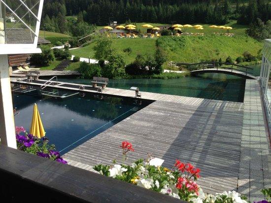 Alpenroyal Grand Hotel - Gourmet & Spa: piscina e parco