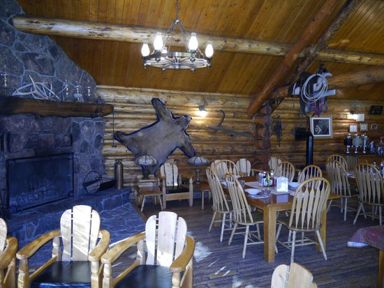 Goosewing Ranch: restaurant intérieur