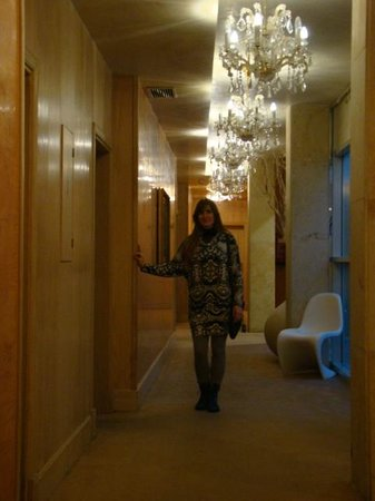 Friday Hotel Prague: corredor  3ª andar
