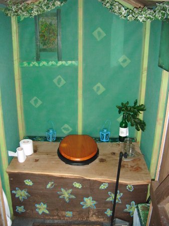 Mill Valley Yurts: The toilet