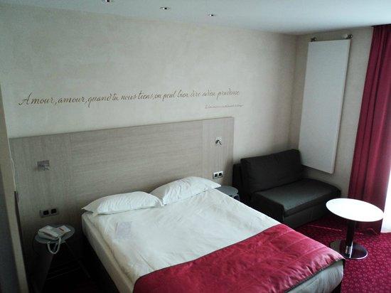 Hotel de Sevigne : chambre