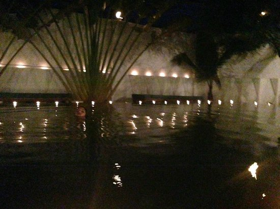 Circa 51: Pool at night