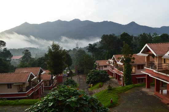 Vythiri Meadows: A morning view from the resort. No words to describe it... Just enjoy it!