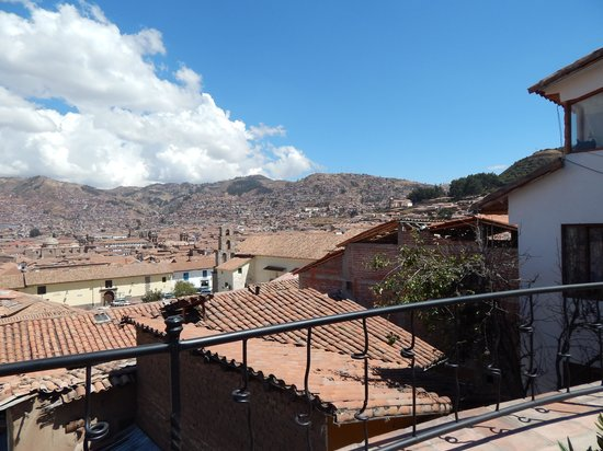 La Morada: view from the terrace