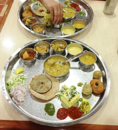 Gypsy Restaurant: Vegetarian Thali