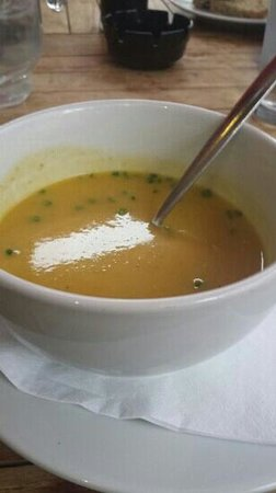 Stonechat Cafe and Restaurant : veg soup