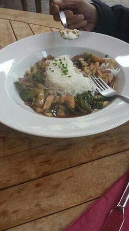 Stonechat Cafe and Restaurant : chicken stir fry