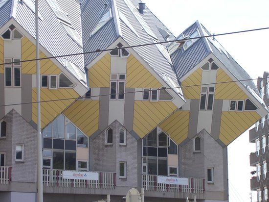 Stayokay Rotterdam: at the front