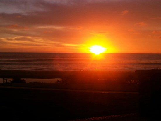 Cardon Adventure Resort: Last evening sunset