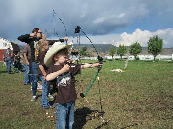 Rockin R Ranch: Kids' Archery