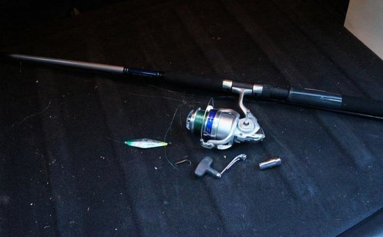 Clayoquot Ventures Tofino Fishing: The rod I bought didn't even last two days.