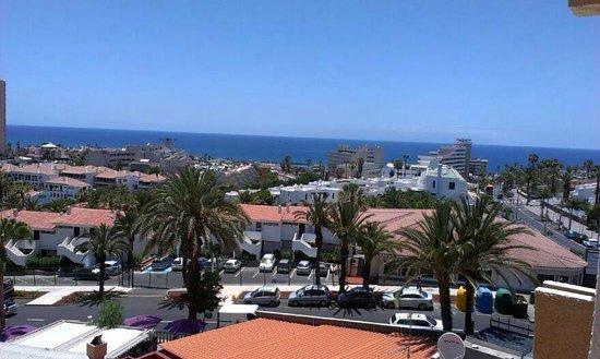 Apartamentos Caribe: View from room