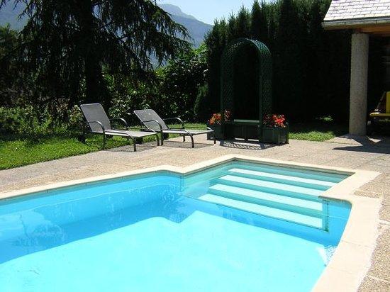 Les Irisynes: la piscine