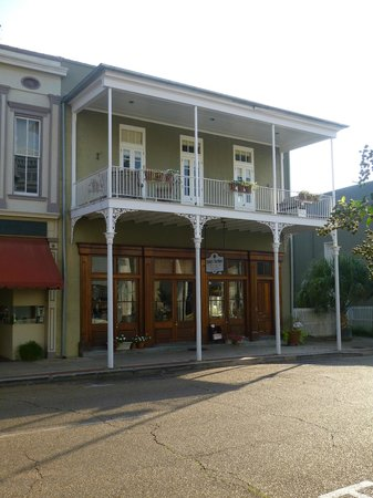 Nice example of French architecture in Natchez