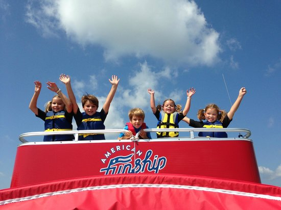 American Funship - Tours: Great Labor Day on the American Funship!