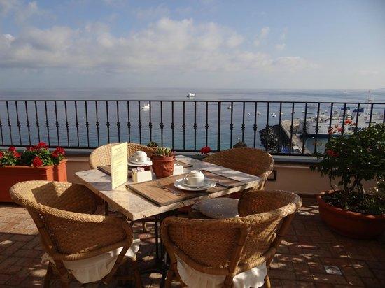 Hotel Relais Maresca: Le petit déjeuner