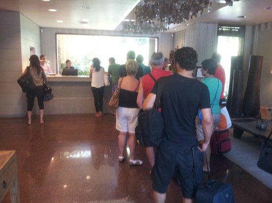 Hotel Huerto Del Cura: Recepción