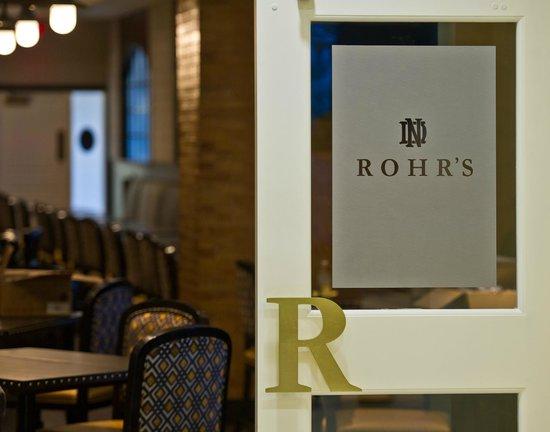 Morris Inn: Rohr's