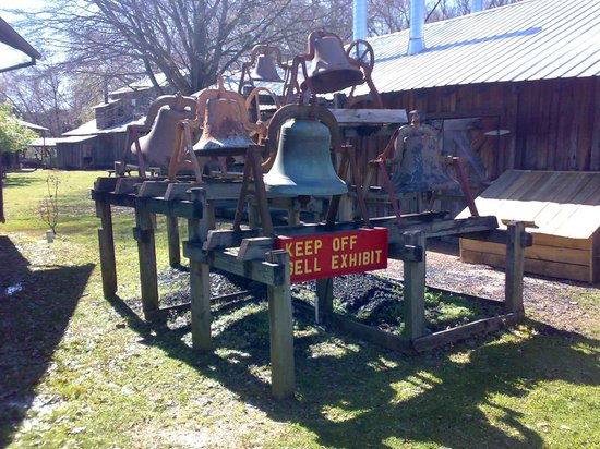 Mississippi Agricultural & Forestry Museum: Dzwonki