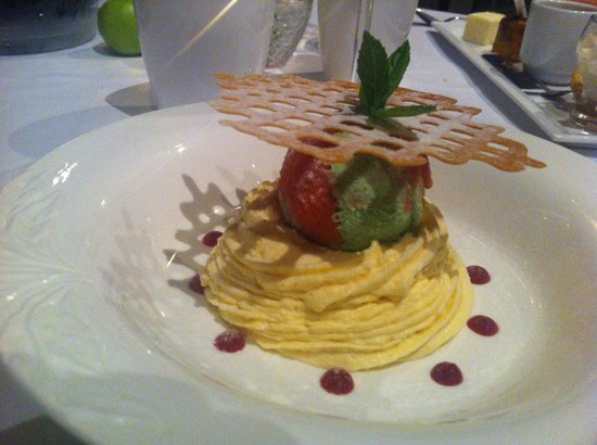 La Table du Relais du Bois Saint Georges: dessert