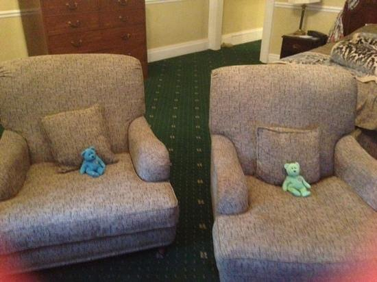 Willington Hall Hotel: Teds relaxing