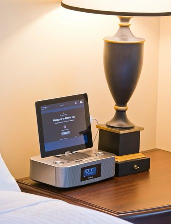 Morris Inn: iPad, Docking Station and Radio in each room