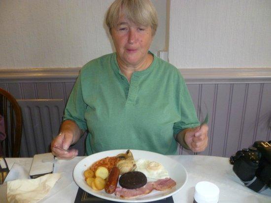 The Rose and Crown Inn: Lovely breakfast