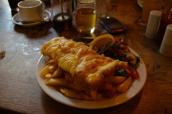 The Star Inn: fish and chips