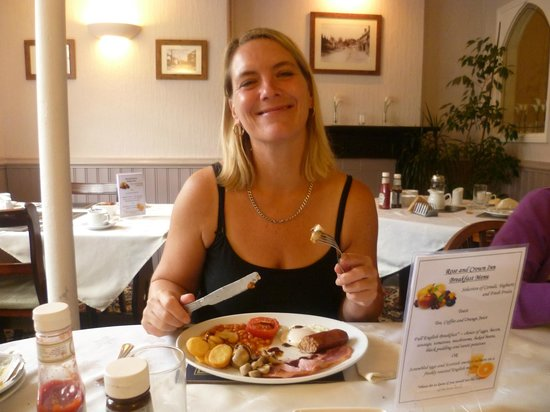 The Rose and Crown Inn: Great Breakfast