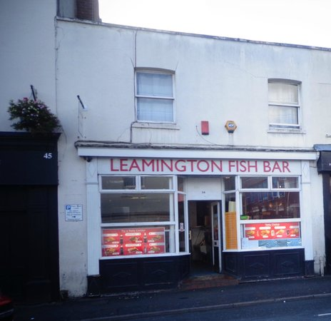Leamington Fish Bar: front of bar say it all dont use toilets unless you want bad stomach