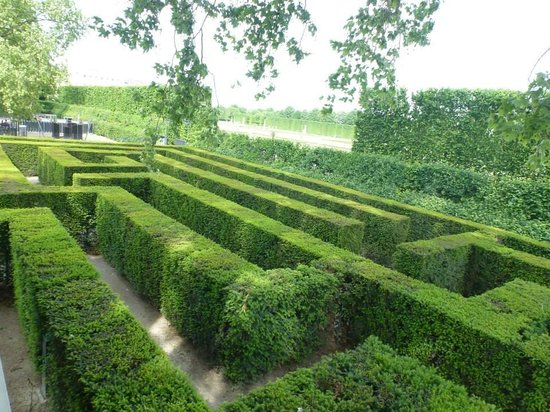 Gärten von Schönbrunn: The maze.