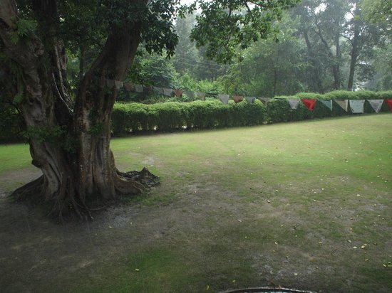 Gokarna Forest Resort : The monsoon had not ended during my stay at the Gokarna.