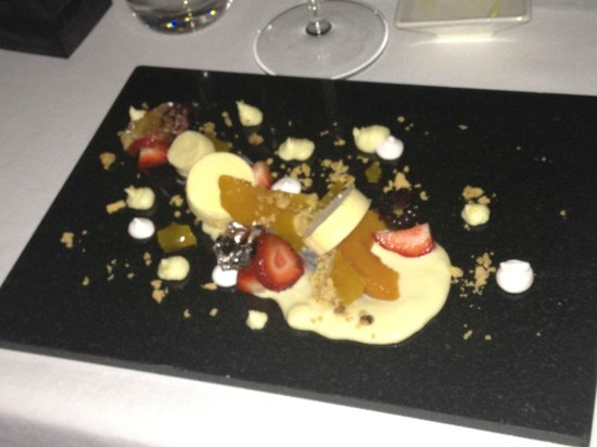 Iona Restaurant at Toravaig House Hotel: desert