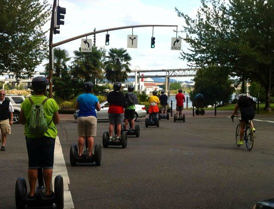 Portland Marriott Downtown Waterfront: Segway Tours