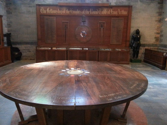 King Arthur's Great Halls: The Round Table