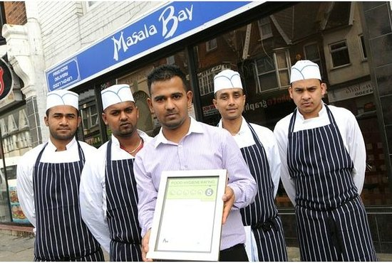 Masala Bay Takeaway: 5 Star Food Hygiene